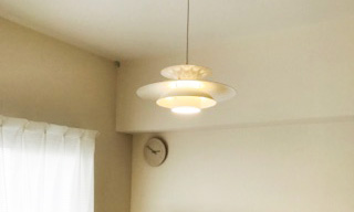 ルイスポールセン照明器具の塗装